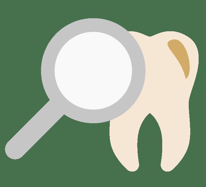 dantų tikrinimas